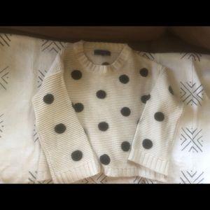 Nasty Gal Polka Dot Sweater